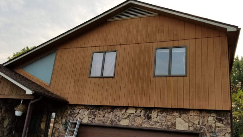 Wood-Look Siding - Before