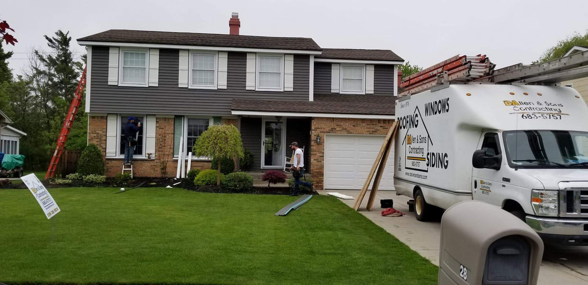 Expert Siding Contractor - DAllen & Sons