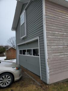 Siding Project by D Allen And Sons -Garage - Before