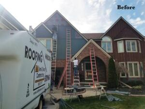 Siding Installation - DAllen and Sons - Before